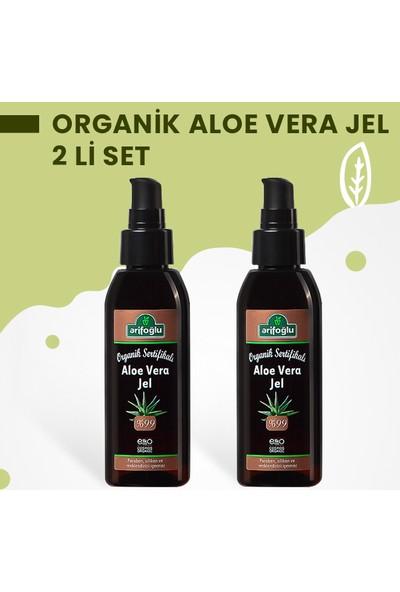 Arifoğlu Organik Aloe Vera Jel 125ML + 125ML 2 Li Set