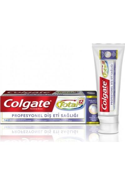 Colgate Total Profesyonel Diş Eti Sağlığı 75ml -12'li Paket