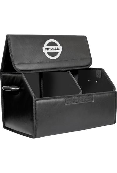 Dekohop Oto Bagaj Organizeri Nissan Uyumlu Deri Bagaj Kutu Çanta