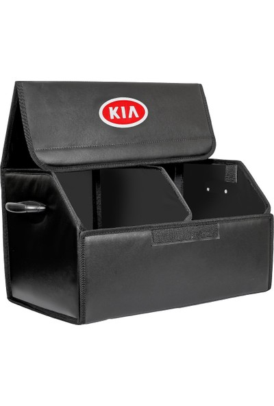 Dekohop Oto Bagaj Organizeri Kia Uyumlu Deri Bagaj Kutu Çanta