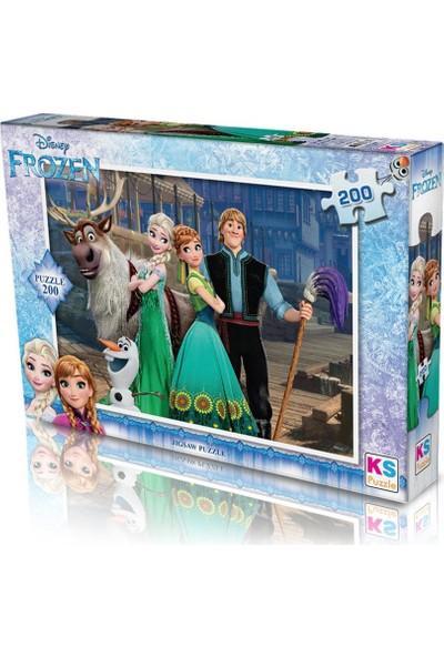 KS Frz 113 Puzzle 200 Frozen Puzzle 200 Parça