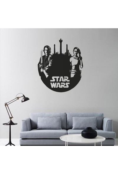Rainbow Metal Art Star Wars Metal Tablo