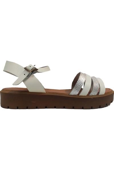 Vural 307 Parmak Arası Kadın Sandalet