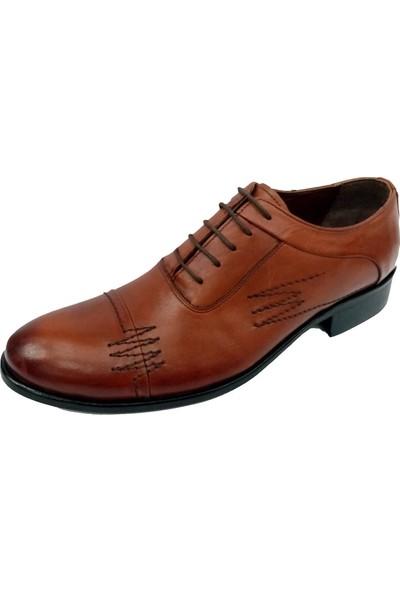 Özer 854 Deri Neolit Taban Bağcıklı Erkek Ayakkabı