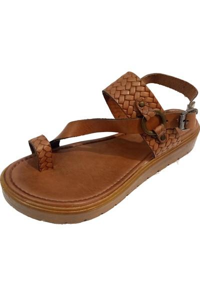 Vural 311 Deri Parmak Arası Kadın Sandalet