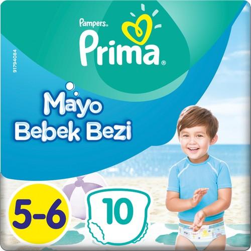 Prima Mayo Bebek Bezi 5 Beden 10 Adet Junior Tekli Paket