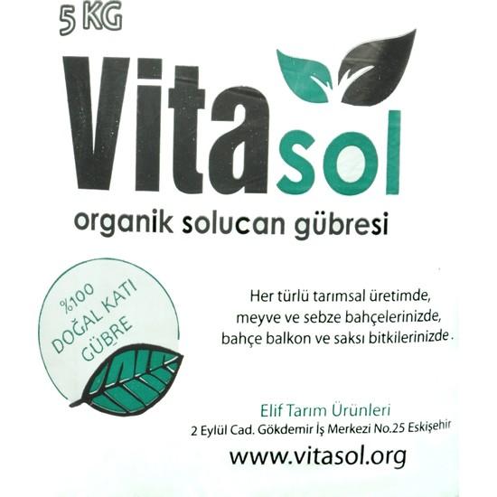 Vitasol Organik Solucan Gübresi 5 kg