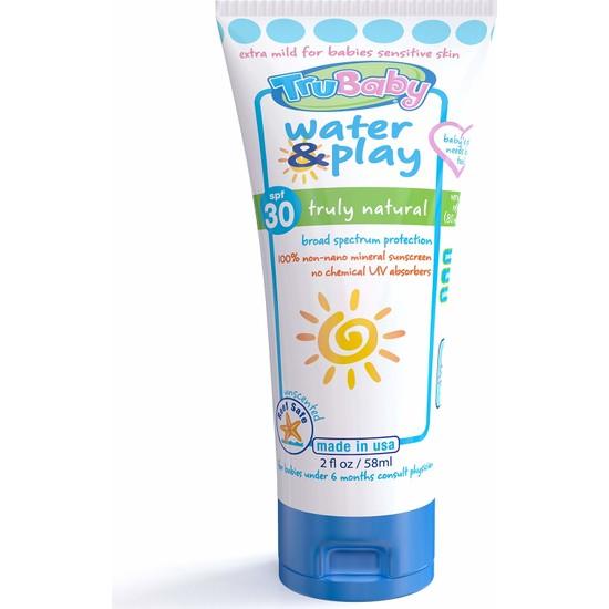 Trukid Trubaby Water & Play Spf 30 Mineral Organik İçerikli Koruyucu Bebek Güneş Kremi 58 ml