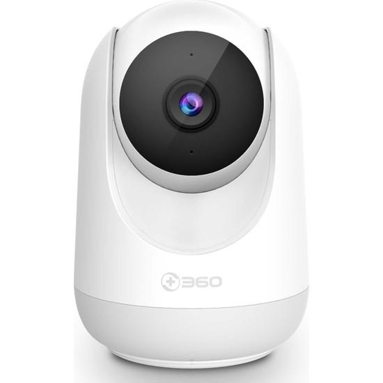360 Pan-Tilt D806 360 Derece Dönebilen Kızılötesi Gece Görüşlü Güvenlik ve Çocuk Ip Kamera Hd 1080P