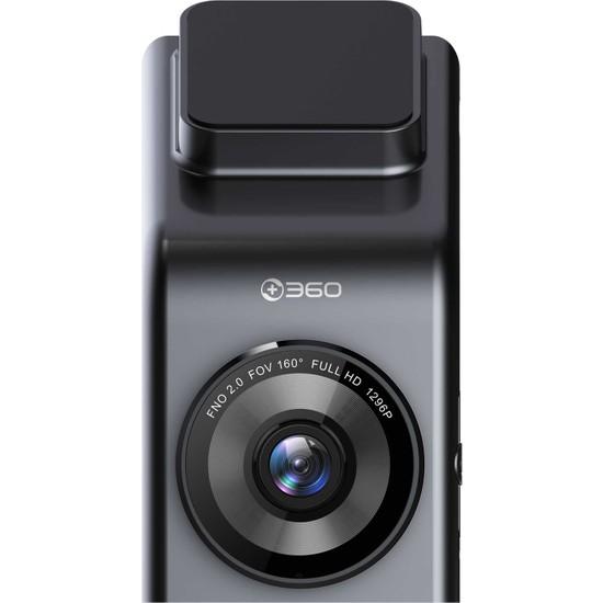 360 G300 1296p 160° Geniş Açı Gece Görüş Dahili GPS Akıllı Araç İçi Kamera