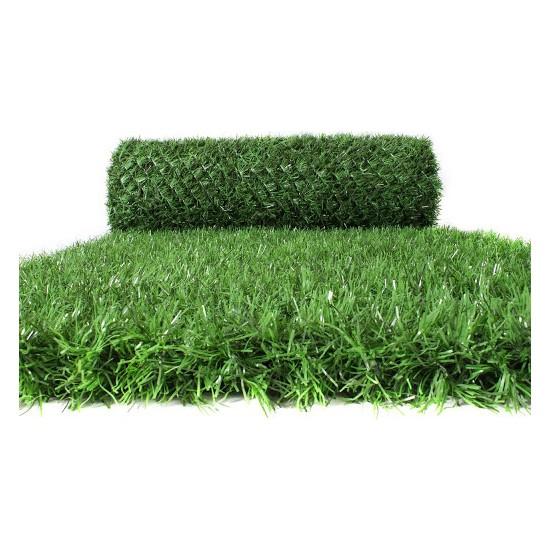Can Çim Çit Çimli Bahçe Teli Çimçit Yeşil 60 x 500 cm
