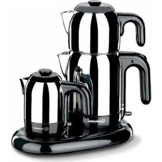 Korkmaz A353 Mia Çay Kahve Makinesi Seti