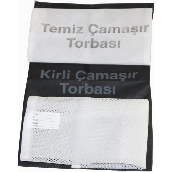 Erdoğanlar Acemi ve Bedelli Askeri Malzeme Kirli-Temiz Çamaşır Torbası ve Çamaşır Filesi Askerlik Set
