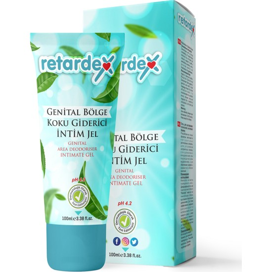 Retardex Genital Bölge Ph 4.2 Intim Jel 100 ml