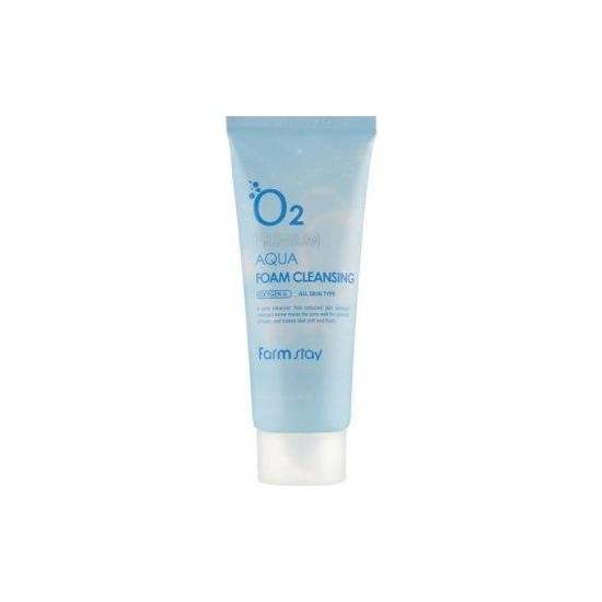 Farmstay Oksijenli Premium Aqua Gözenek Sıkılaştırıcı, Siyah Nokta Giderici , Yenileyici Cilt Temizleme Jeli