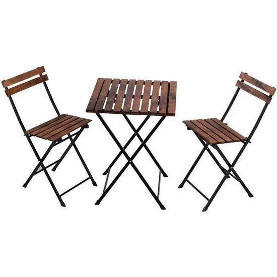Noowa Bistro Masa ve Sandalye Takımı