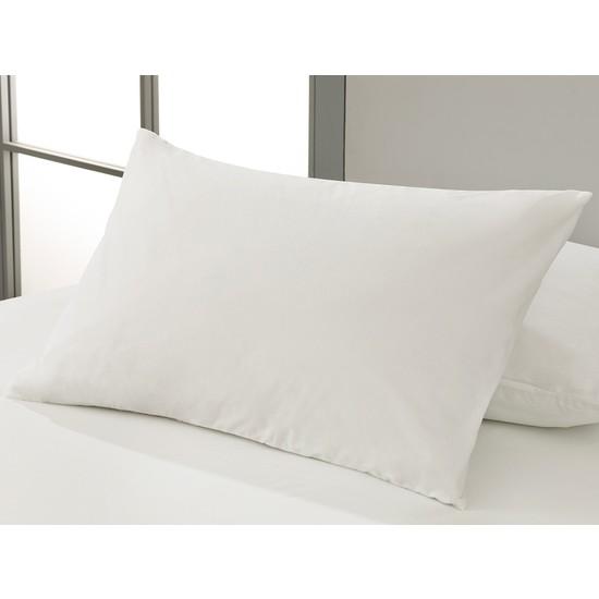 Englısh Home Fresh Touch Su Geçirmez Alez Yastık Kılıfı 50 x 70 cm Beyaz