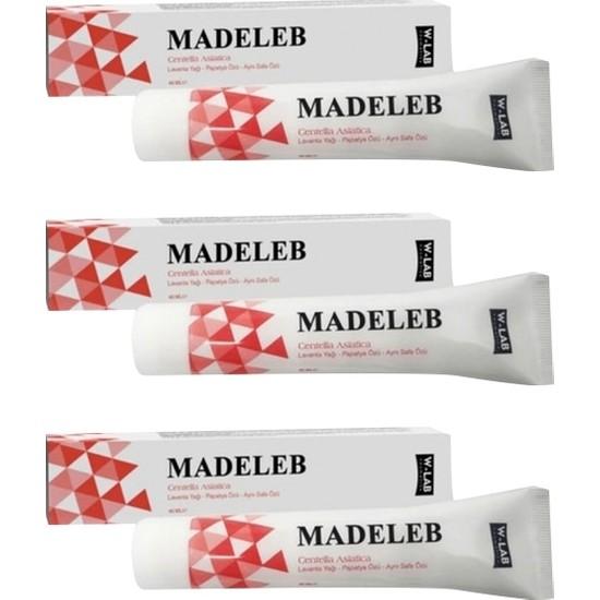 Madeleb Krem 40 ml x 3 Adet