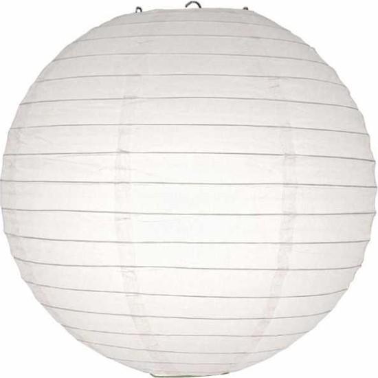 Kikajoy Beyaz Kağıt Dekor Fener 20 cm
