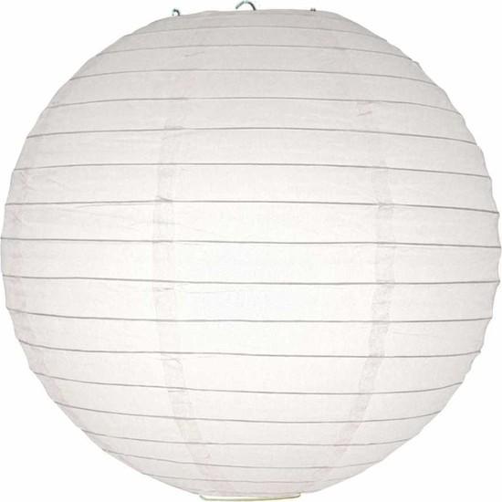 Kikajoy Beyaz Kağıt Dekor Fener 40 cm