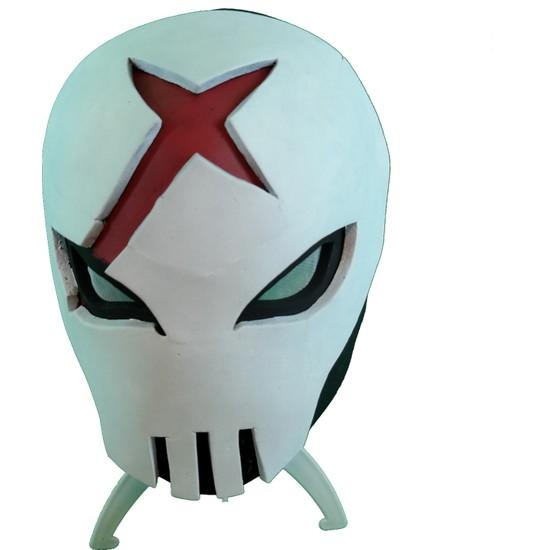 Hmd Red X Dekoratif Maske