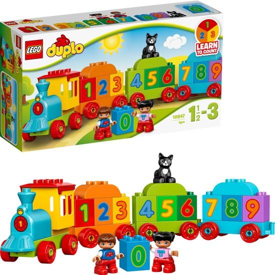LEGO® DUPLO 10847 Sayı Treni Yapım Seti - Okul Öncesi Çocuk için Öğretici Oyuncak