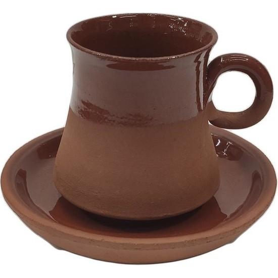 Mogan Çömlekçilik Türk Kahve Fincanı Toprak El Yapımı