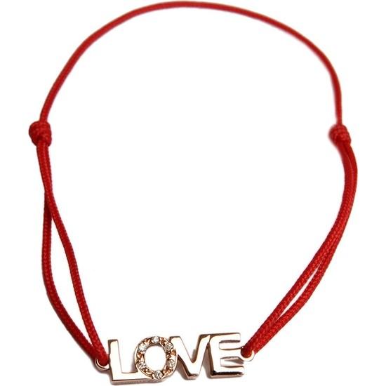 Özüm Kuyumculuk Love Ipli Altın Bilezik