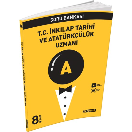 Hız Yayınları 8. Sınıf T.C İnkılap Tarihi ve Atatürkçülük Uzman Soru Bankası