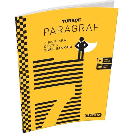 Hız Yayınları 7. Sınıf Türkçe Paragraf Soru Bankası