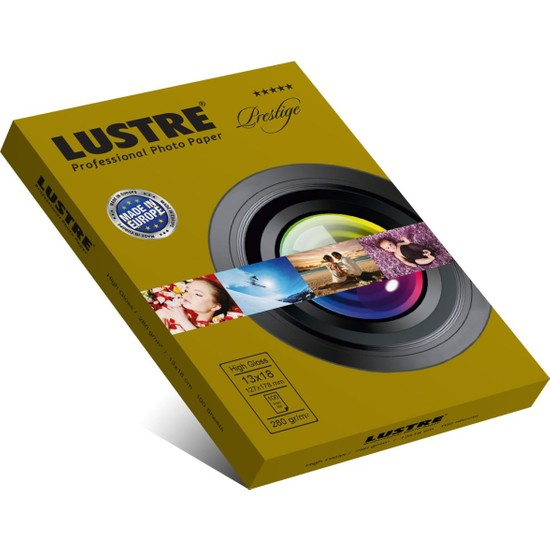Lustre Prestige Parlak 13 x 18 cm 280 gr Fotoğraf Kağıdı