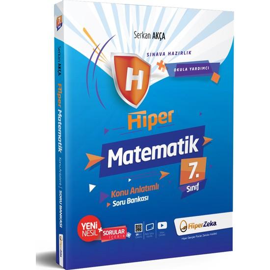 Hiper Zeka Yayınları 7. Sınıf Hiper Matematik Konu Anlatımlı & Soru Bankası
