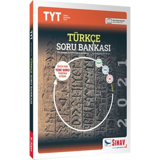 Sınav Yayınları TYT Türkçe Soru Bankası Ekitap İndir | PDF | ePub | Mobi