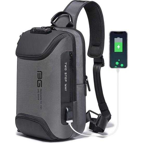 Yukka USB Şarj Grişili Sırt Çantası