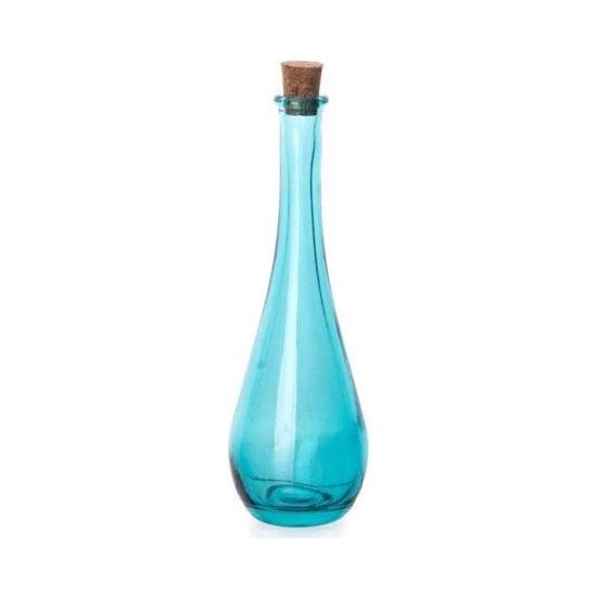 Ultraform San Miguel Lagrima 330 ml Cam Yağ Şişesi Mavi