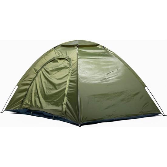 Alpınıst Festival - Kamp Çadırı 200 x 145 x 105 cm Koyu Yeşil