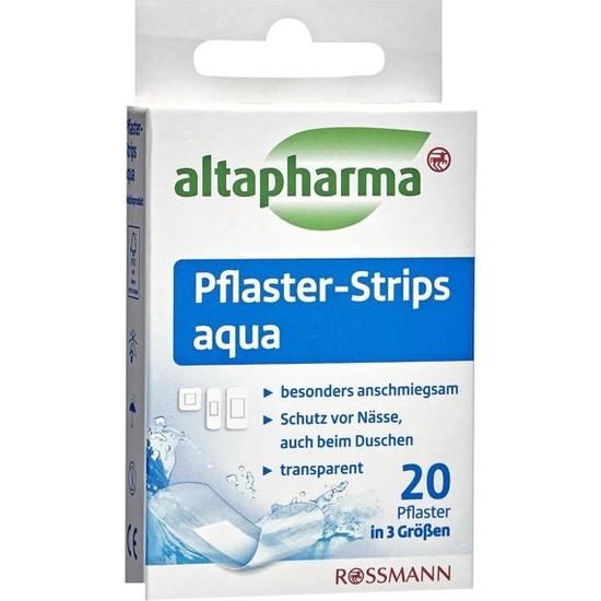 Altapharma Şerit Yara Bantları Aqua 3 Farklı Boyutta