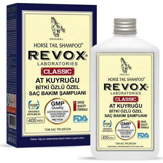 Revox Saç Dökülmelerine Karşı At Kuyruğu Bitki Özlü Saç Bakım Şampuanı