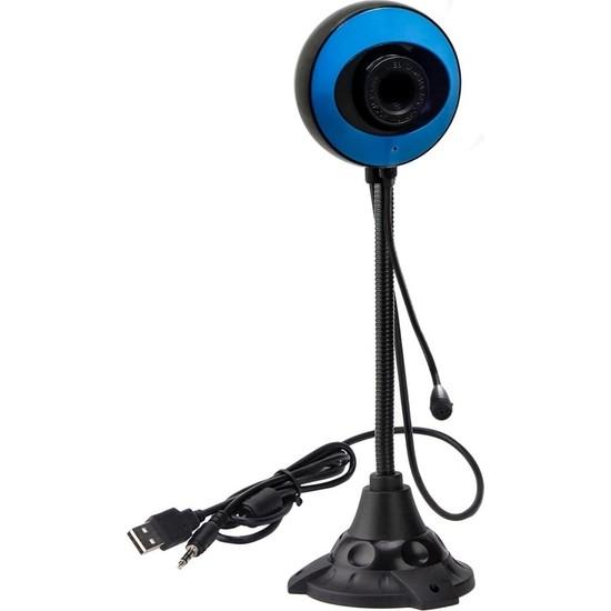 Snt 20646 5mp USB Webcam Işık Ayarlı Mikrofonlu