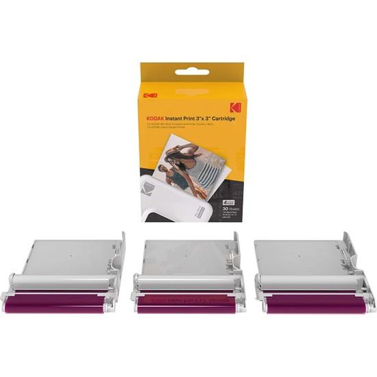 Kodak ICRG-330 - 30 Adetlik Baskı Seti - 4pass (Çizilmez Parmak Izi Yapmaz Suya Dayanıklı)