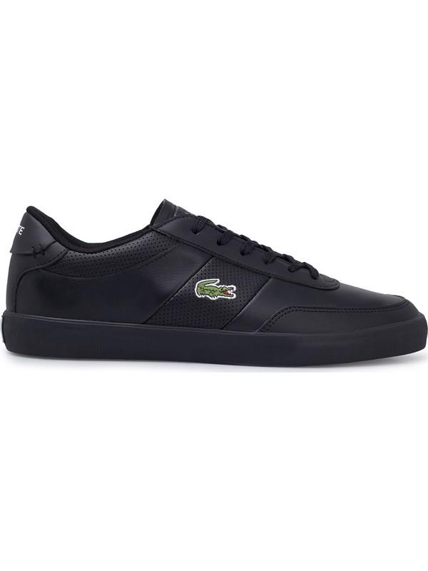Lacoste Court-Master 0120 1 Cma Ayakkabı Erkek Ayakkabı 740CMA0014 02H Siyah 42