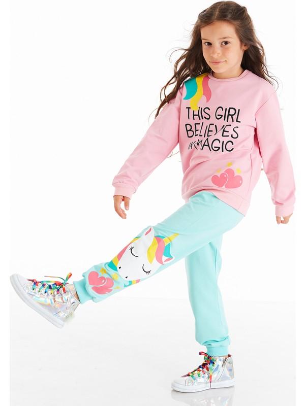 Denokids Girl Magic Kız Çocuk Eşofman Takım
