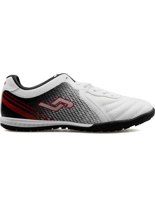 Jump Genç Halı Saha Ayakkabısı 25356 A Beyaz