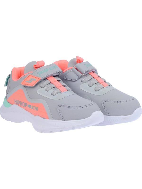 Jump 25780 Günlük Cırtlı Kız-Erkek Çocuk Spor Ayakkabı