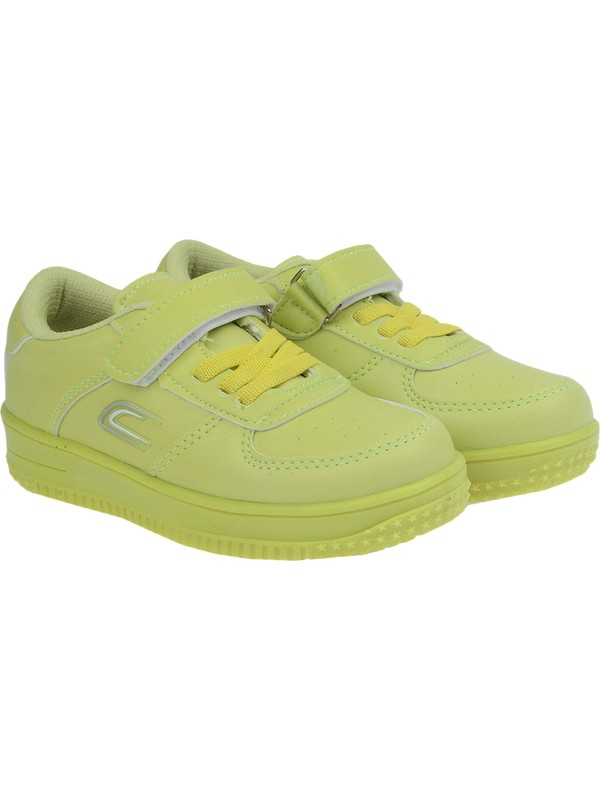 Kiko Ats Günlük Cırtlı Kız-Erkek Çocuk Spor Ayakkabı Su Yeşili