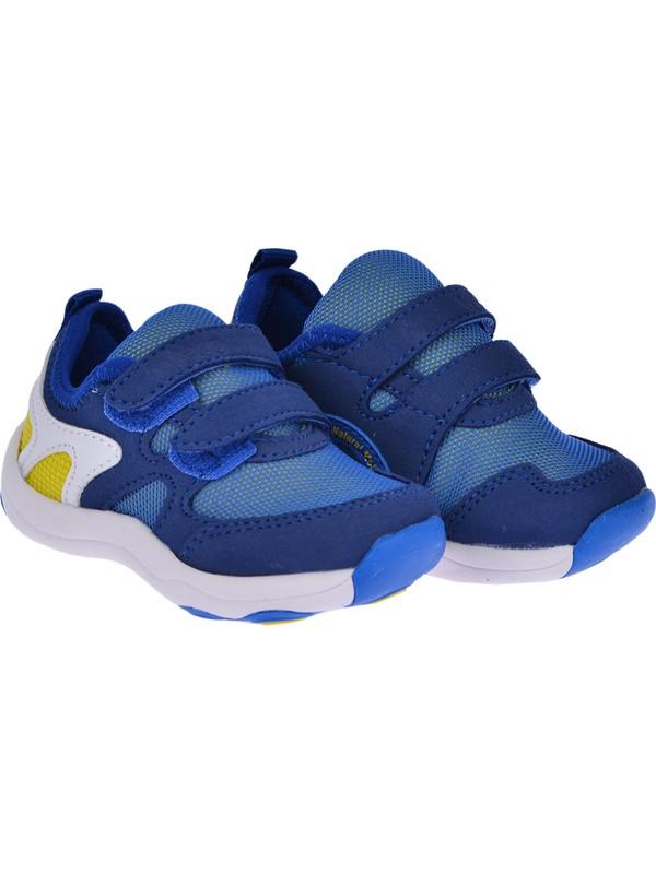 Vicco 313.20Y.120 Günlük Cırtlı Kız-Erkek Çocuk Spor Ayakkabı Saks