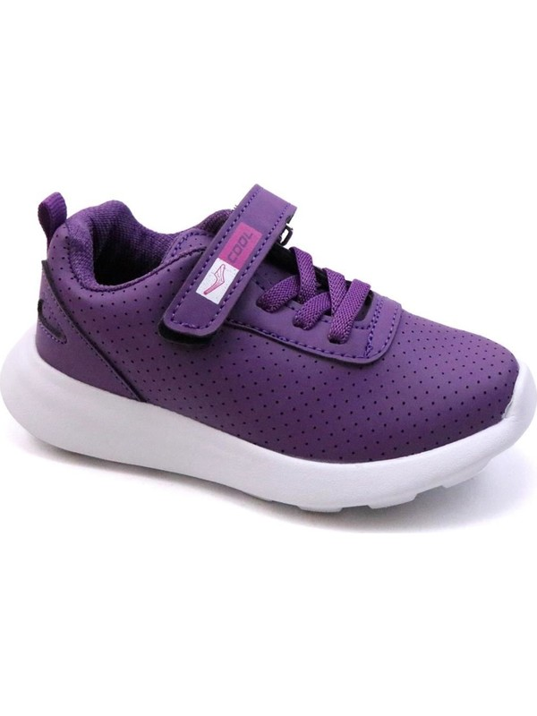 Cool 20-S20 Mor Kız Çocuk Fileli Günlük Spor Ayakkabı