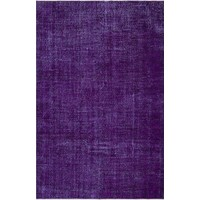 Grand Hedef Halı Mor Renk Vintage El Dokuma Halı 167 x 260 cm