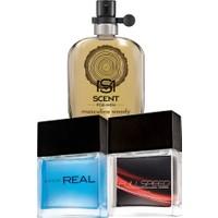 Avon Real Masculine Woody ve Full Speed Max Turbo Edt Erkek Parfüm Paketi