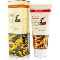 Farmstay Kırmızı Ginseng Gözenek Sıkılaştırıcı Siyah Nokta Giderici Yenileyici Cilt Temizleme Jeli 180 ml